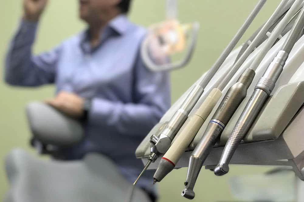Kispesti rendelő fogászati turbina mikromotor puszter
